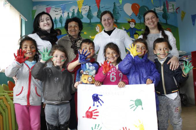 On the Roma Week, promoting interculture education and children