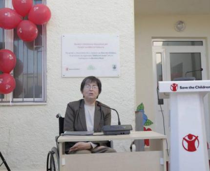 New community services center for children with disabilities in Vlora