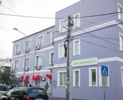 New Primary Health Care Center for the community in Laprake, Tirana