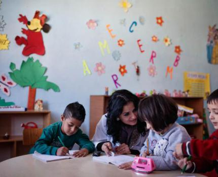 Early Childhood Care and Development for Roma Children in Albania