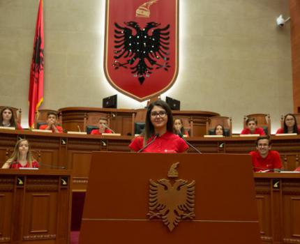 Children in the Parliament appealed for their rights to be respected