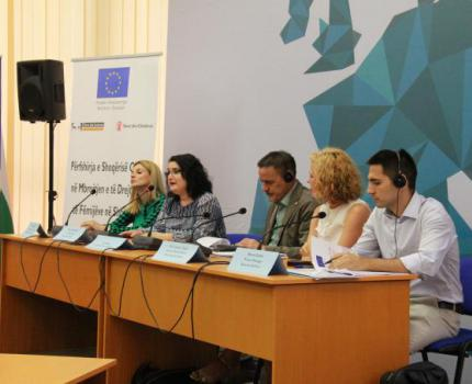 """Civil Society in Action for Protection of Child Rights in Albania-  Conference on """"Best practices, challenges and lessons learned"""""""