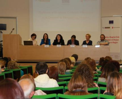 """Civil society in action for the protection of child rights in Albania"""